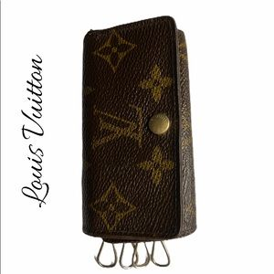 Louis Vuitton Monogram Multicles 4 Ring Key Case